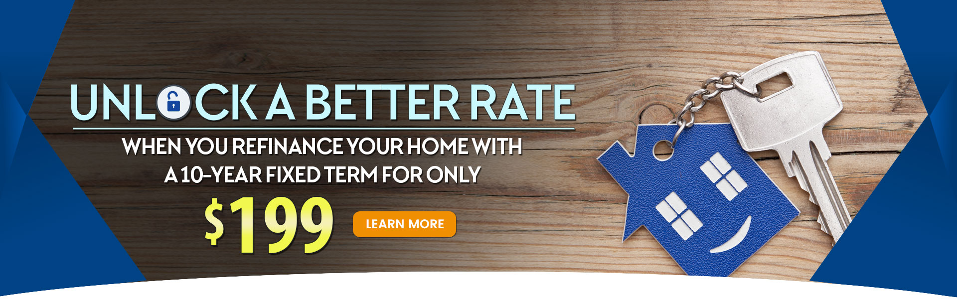 10 & Done home refinance special