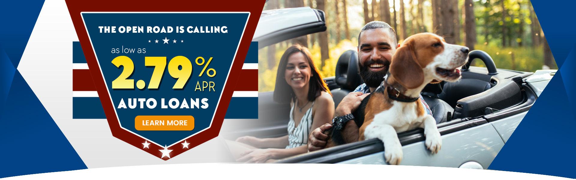 2.79% Auto Loan Special