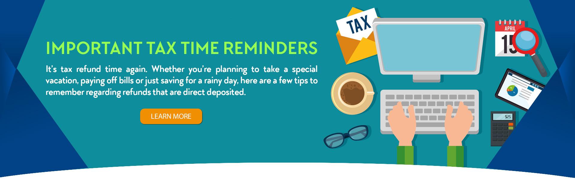 Tax reminders
