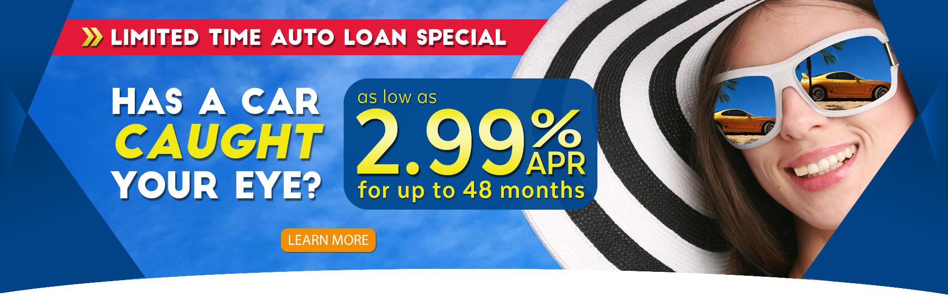 2.99% Auto Loans