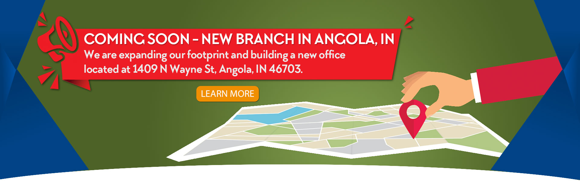 Angola Branch Coming Soon