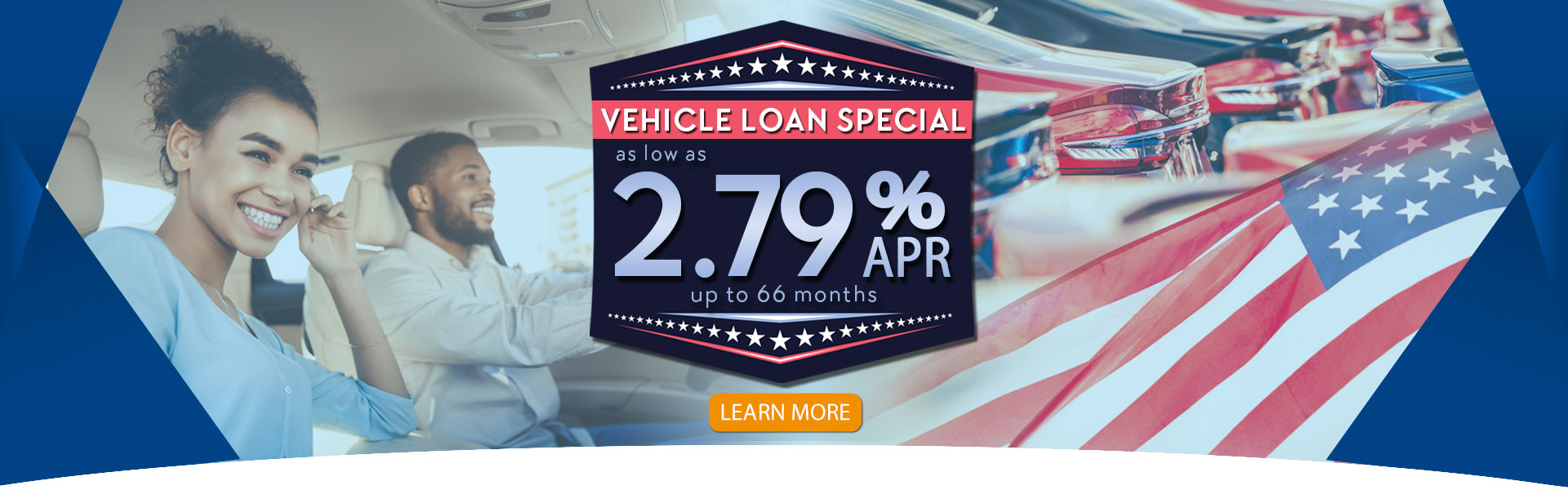 2.79% APR Auto Loan Special
