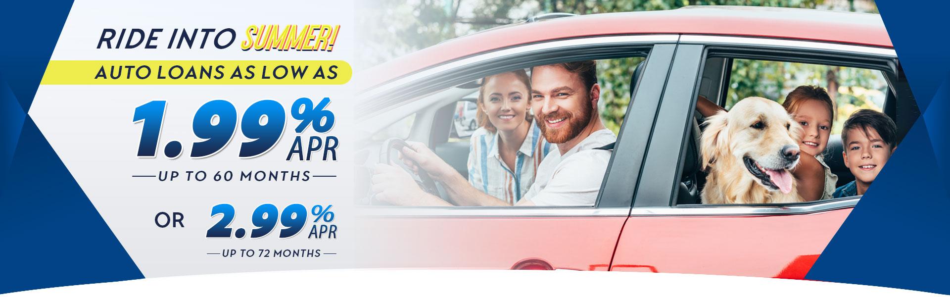 1.99% Auto Loans