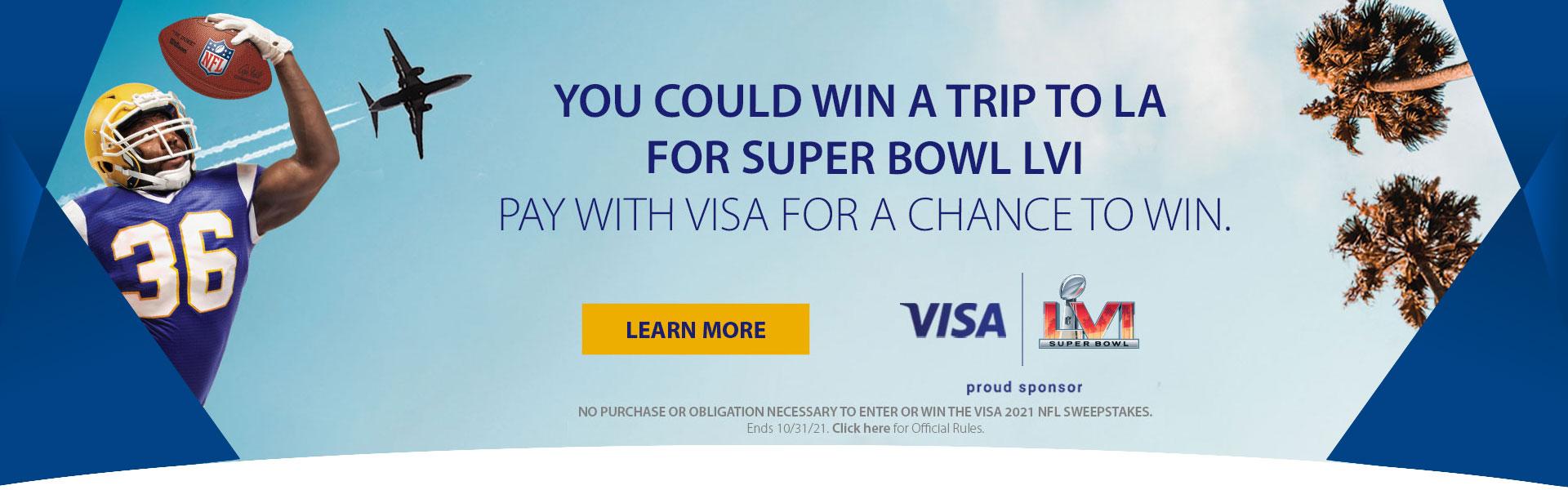 NFL VISA® Sweepstakes