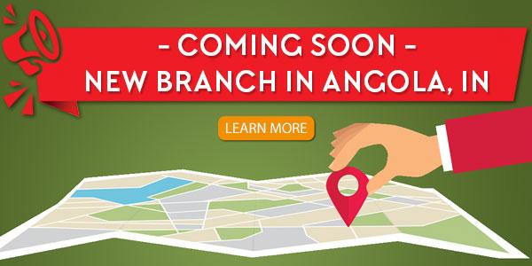 New Angola branch