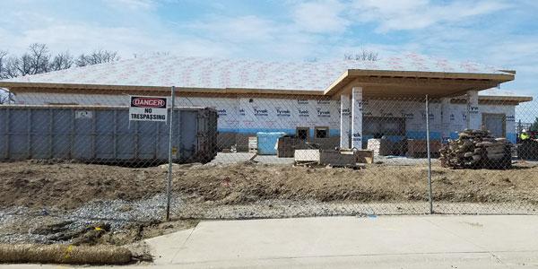 Illinois Rd Branch Construction